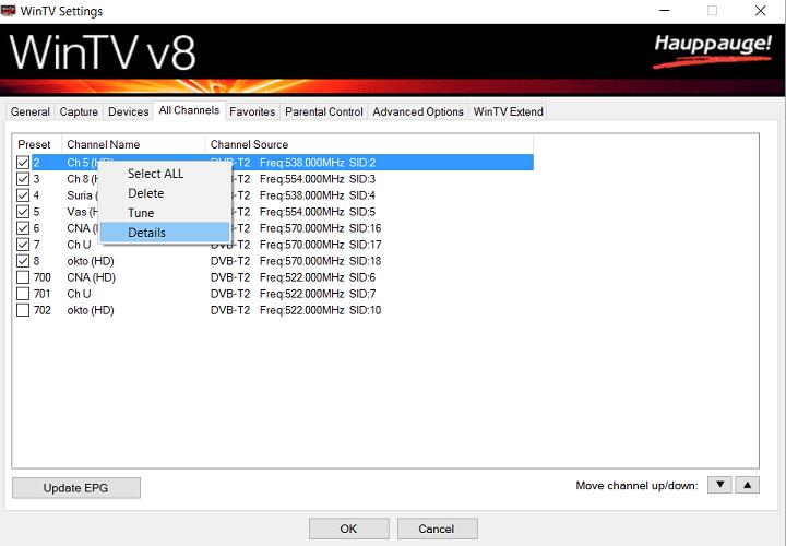Hauppauge  Support for WinTVHVR850